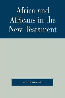 Africa and Africans in the New Testament