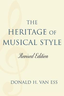 The Heritage of Musical Style