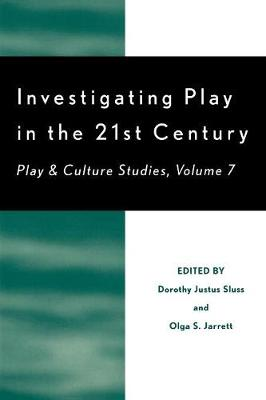 Investigating Play in the 21st Century: Play and Culture Studies