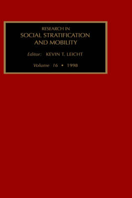 Research in Social Stratification and Mobility: v. 16