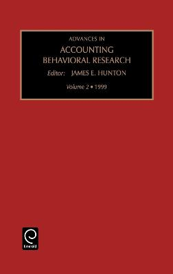 Advances in Accounting Behavioral Research: v. 1