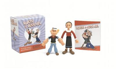 Popeye and Olive Oyl: Collectible Figurines and Illustrated Book