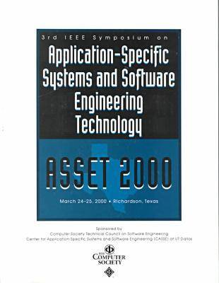 Application-Specific Systems and Software Engineering (Asset 2000)