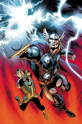 The The Mighty Thor: Mighty Thor, The Journey Into Mystery: Everything Burns Journey into Mystery: Everything Burns