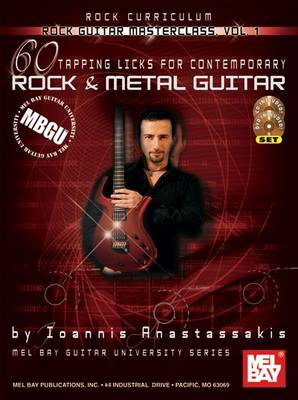 60 Tapping Licks: For Contemporary Rock and Metal Guitar