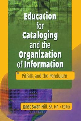 Education for Cataloging and the Organization of Information: Pitfalls and the Pendulum