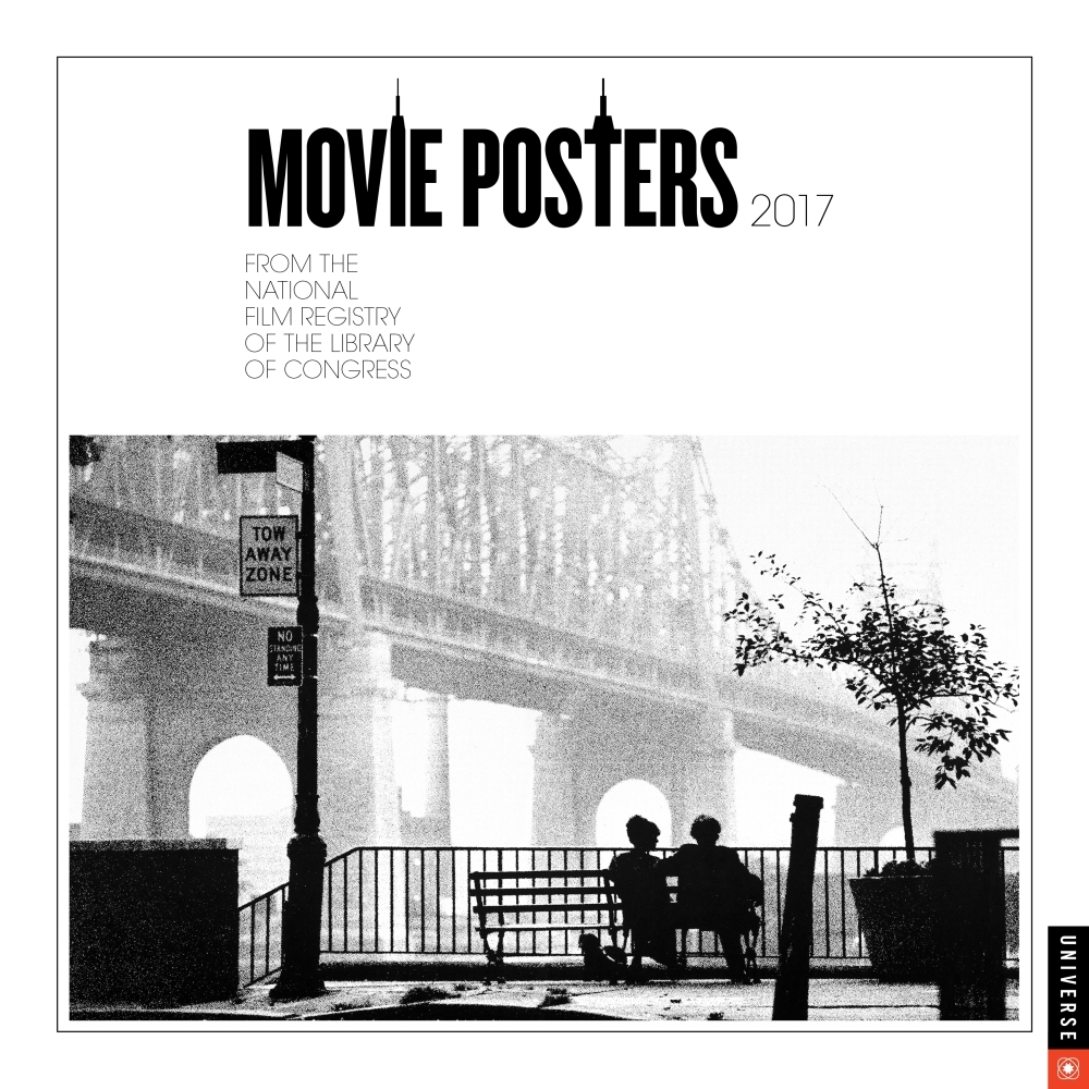 Movie Posters Wall Calendar 2017