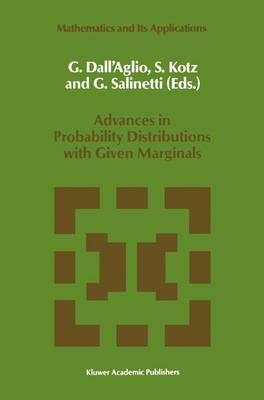 Advances in Probability Distributions with Given Marginals: Beyond the Copulas