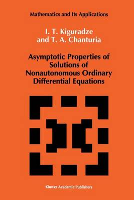 Asymptotic Properties of Solutions of Nonautonomous Ordinary Differential Equations
