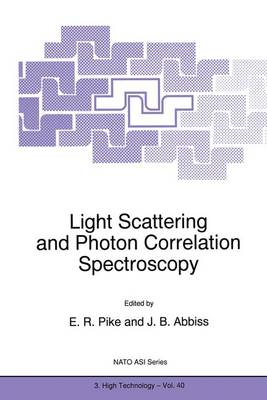 Light Scattering and Photon Correlation Spectroscopy
