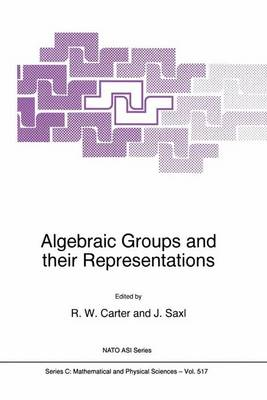 Algebraic Groups and Their Representations: Proceedings of the NATO Advanced Study Institute of Molecular Representations and Subgroup Structure of Algebraic Groups and Related Finite Groups, Cambridge, U.K., 23 June-4 July 1997