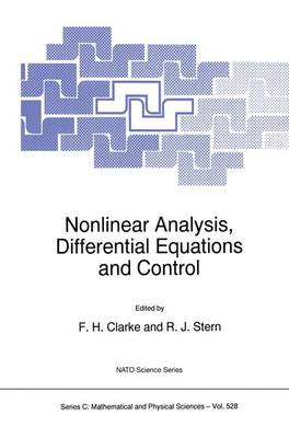Nonlinear Analysis, Differential Equations and Control