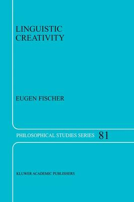 Linguistic Creativity: Exercises in `Philosophical Therapy'