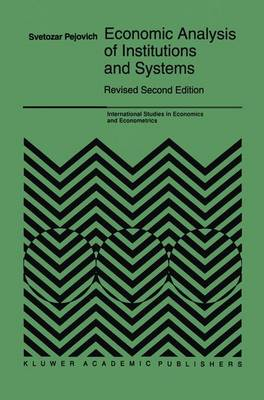Economic Analysis of Institutions and Systems