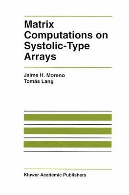 Matrix Computations on Systolic-Type Arrays