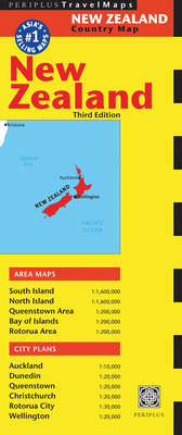 New Zealand Travel Map: Fourth Edition