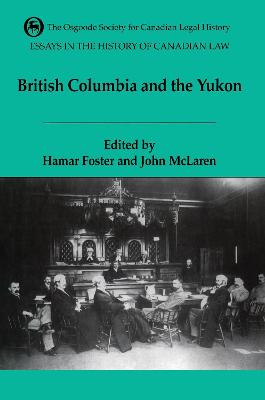 The Essays in the History of Canadian Law: Volume VI