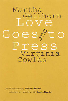 Love Goes to Press: A Comedy in Three Acts