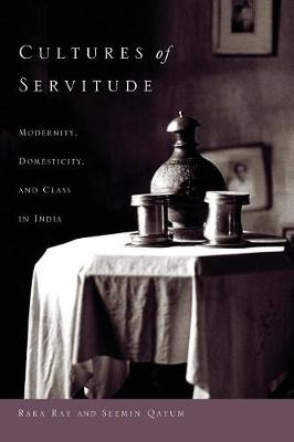 Cultures of Servitude: Modernity, Domesticity, and Class in India