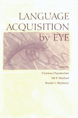 Language Acquisition by Eye