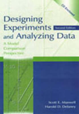 Designing Experiments and Analyzing Data: A Model Comparison Perspective