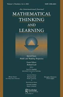 Models and Modeling Perspectives: A Special Double Issue of Mathematical Thinking and Learning