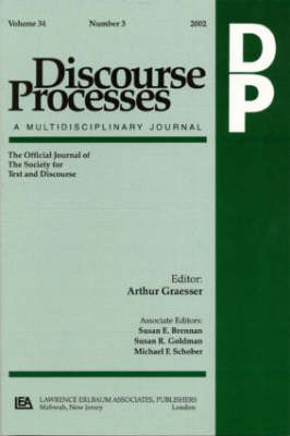 Argumentation in Psychology: A Special Double Issue of Discourse Processes