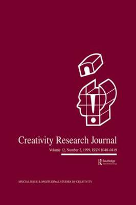 Longitudinal Studies of Creativity: A Special Issue of creativity Research Journal