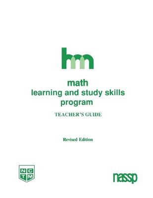 Math: Teacher's Guide: HM Learning and Study Skills Program