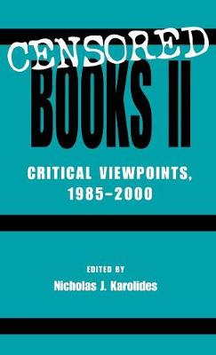Censored Books II: Critical Viewpoints, 1985-2000