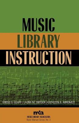 Music Library Instruction