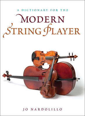 All Things Strings: An Illustrated Dictionary