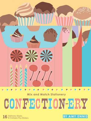 Confection-ery: Mix and Match Stationery