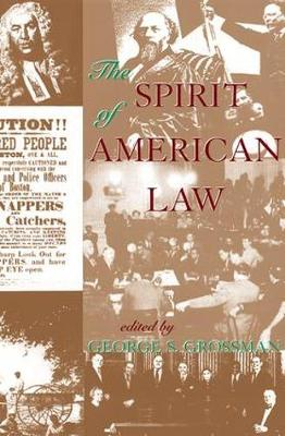 The Spirit Of American Law: An Anthology