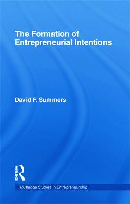 Forming Entrepreneurial Intentions: An Empirical Investigation of Personal and Situational Factors