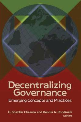 Decentralizing Governance: Emerging Concepts and Practices