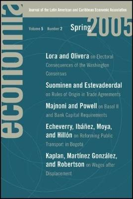 Economia: Spring 2005: Journal of the Latin American and Caribbean Economic Association