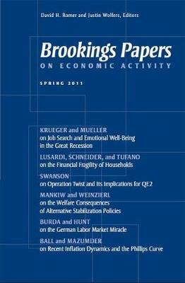 Brookings Papers on Economic Activity: Spring 2011