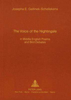 The Voice of the Nightingale: In Middle English Poems and Bird Debates