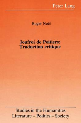 Joufroi de Poitiers: Traduction Critique