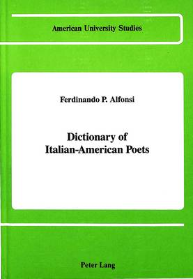 Dictionary of Italian-American Poets