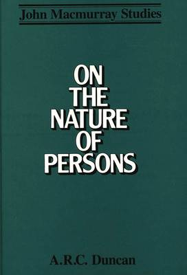 On the Nature of Persons