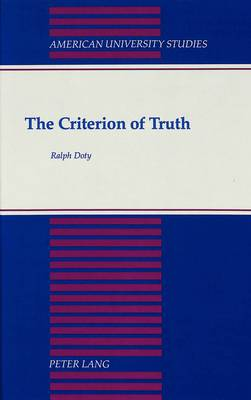 The Criterion of Truth