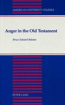 Anger in the Old Testament