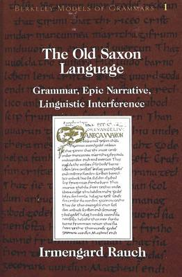 The Old Saxon Language: Grammar, Epic Narrative, Linguistic Interference