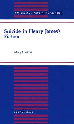 Suicide in Henry James's Fiction