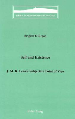Self and Existence: J.M.R. Lenz's Subjective Point of View