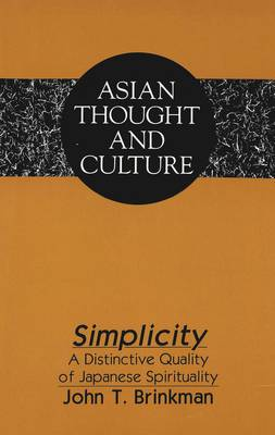 Simplicity: A Distinctive Quality of Japanese Spirituality