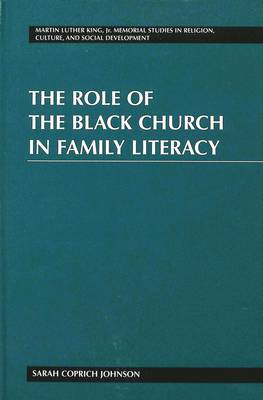 The Role of the Black Church in Family Literacy