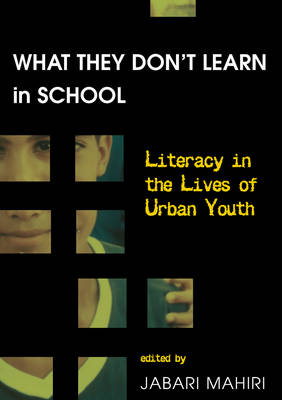 What They Dont Learn in School: Literacy in the Lives of Urban Youth